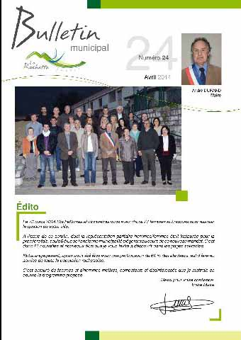 Bulletin municipal avril 2014