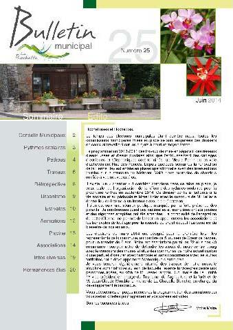 Bulletin municipal juin 2014
