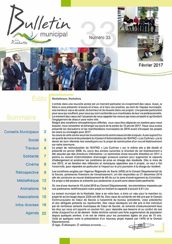 Bulletin municipal février 2017