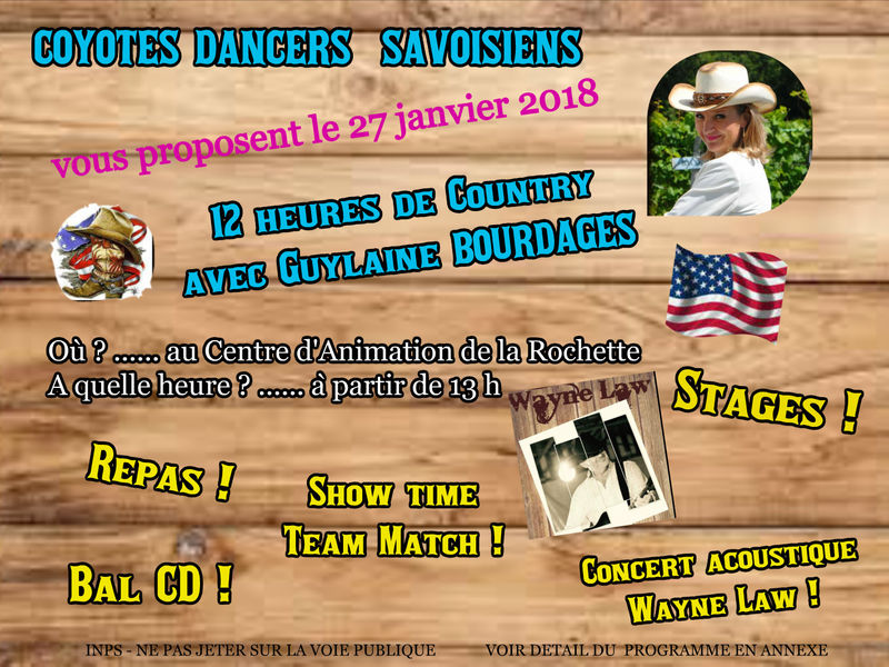 Spectacle « Coyotes Dancers savoisiens »
