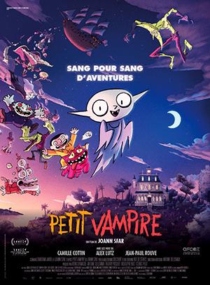 Ciné-Bib : projection du film d'animation «Petit Vampire»