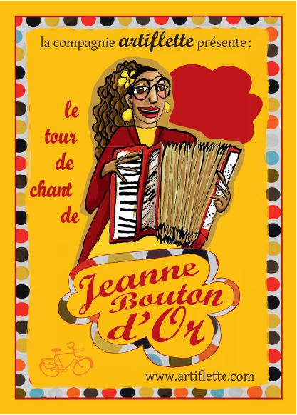 Spectacle «Jeanne Bouton d'Or»