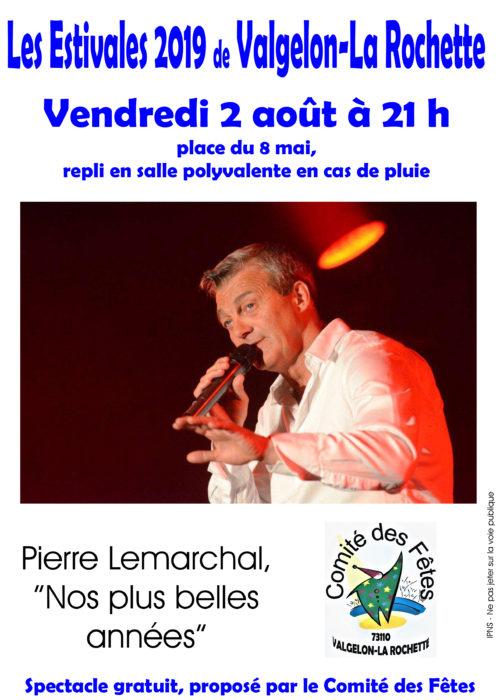 affiche les estivales 2019 Pierre Lemarchal