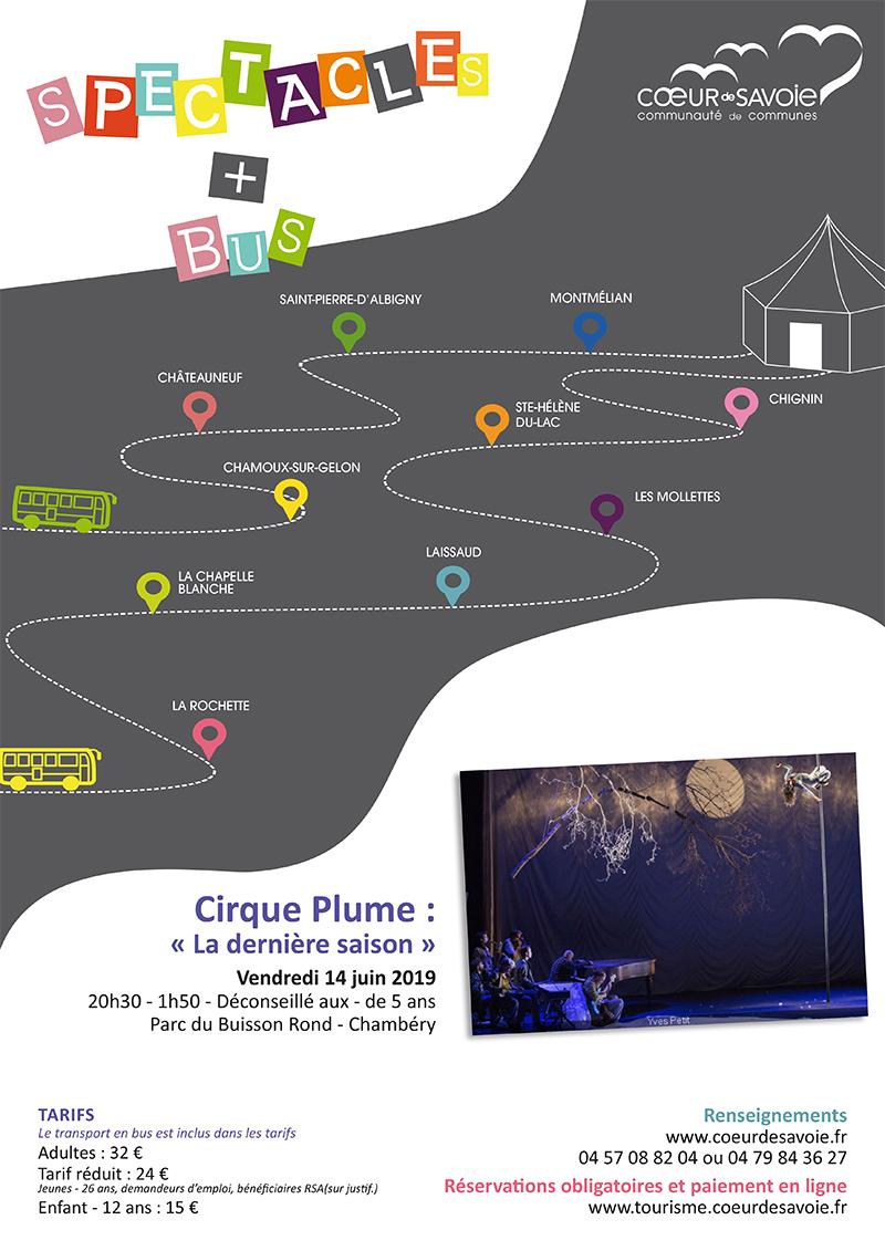 Spectacle + bus : Cirque Plume «La dernière saison»