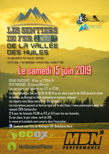 Les sentiers de fer de la vallée des Huiles : All mountain VTT