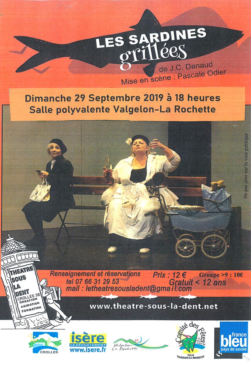 Théâtre : Les sardines grillées