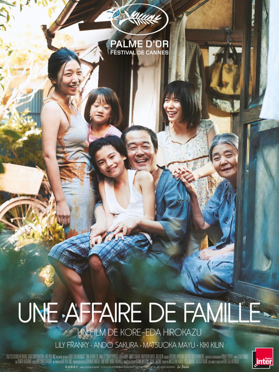 Ciné-Bib : projection de «Une affaire de famille»