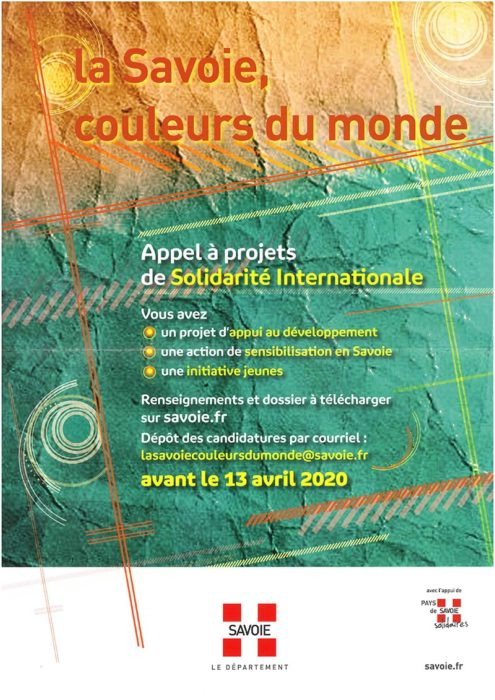 Appel à projets de solidarité internationale 2020