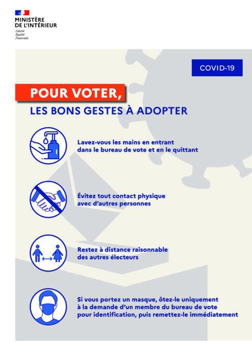 Coronavirus organisation des bureaux de vote mairie de - Organisation bureau de vote ...