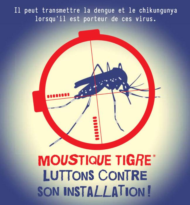 Mobilisons-nous contre le moustique tigre !