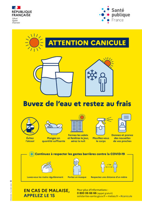 Attention, canicule !