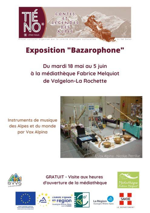 Exposition «Bazarophone»