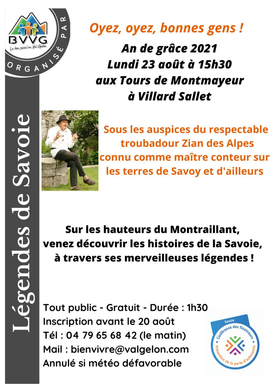 Légendes de Savoie