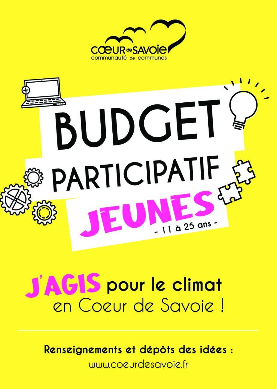 Lancement d'un budget participatif jeunes