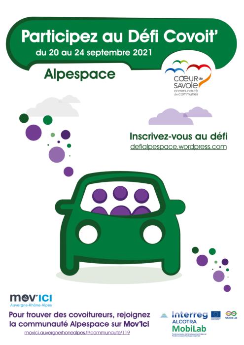 Défi Covoit' Alpespace